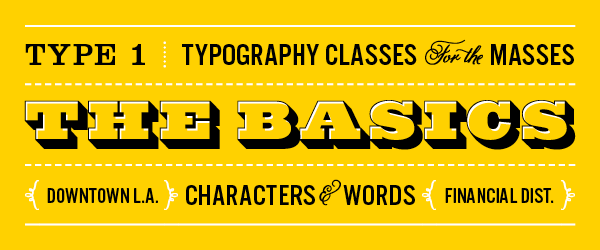 TypeEd Typography School