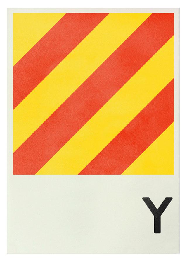 Typo Tuesday: Ahoy! Navy Signal Prints
